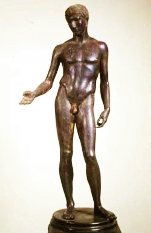 Idolino di Pesaro, Florenz, Museo Nazionale Bargello