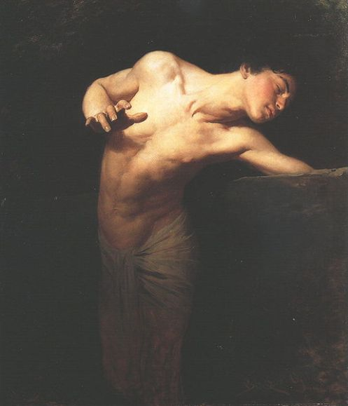 Caravaggio, Narziß