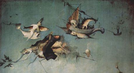 Hieronymus Bosch, aus Die Versuchung des hl. Antonius