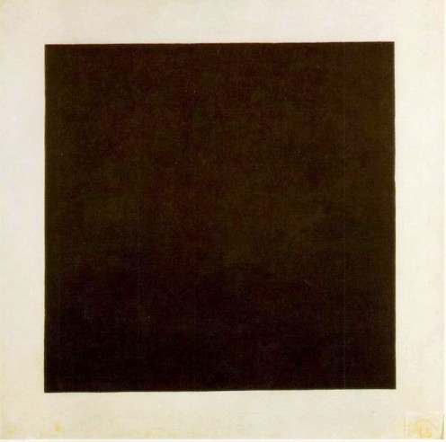 Kasimir Malevitch, Carré noir sur blanc