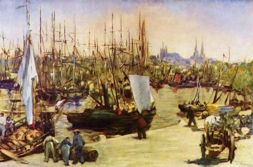 Edouard Manet, Der Hafen von Bordeaux