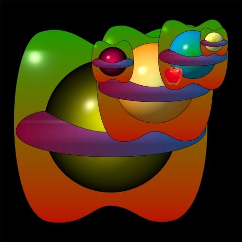theoretisches Modell des Raumzeitkörpers