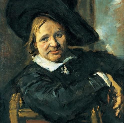 Frans Hals, Der Mann mit dem Schlapphut, Ausschnitt