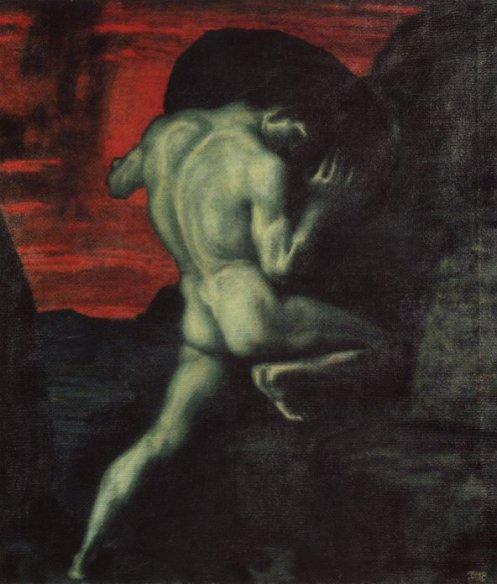 Franz von Stuck, Sisyphos