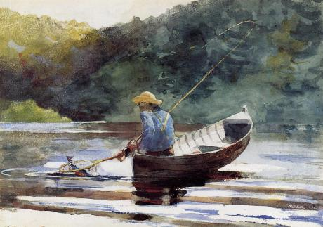 Winslow Homer, Boy fishing