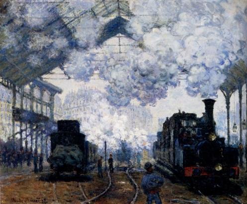 Claude Monet, Gare St. Lazare